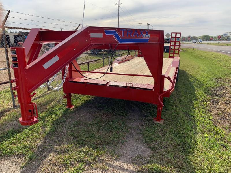2019 Traxx Trailers 24' Gooseneck Equipment Trailer