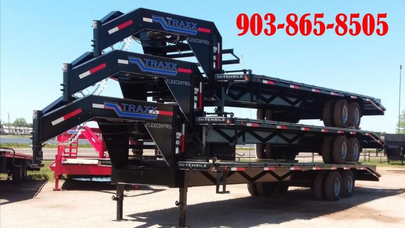 2018 Traxx Trailers DO32DTSH Flatbed Trailer