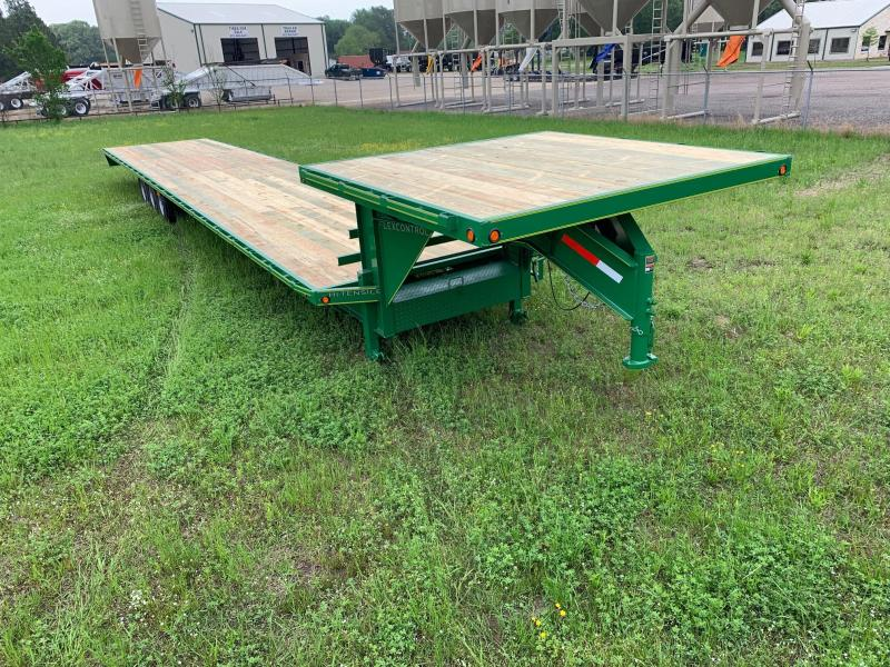 2019 Traxx Trailers DO45TSW Flatbed Trailer