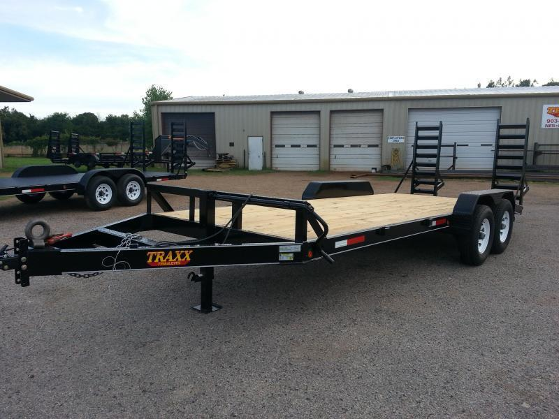 2019Traxx Trailers 20' Equipment / Car Hauler