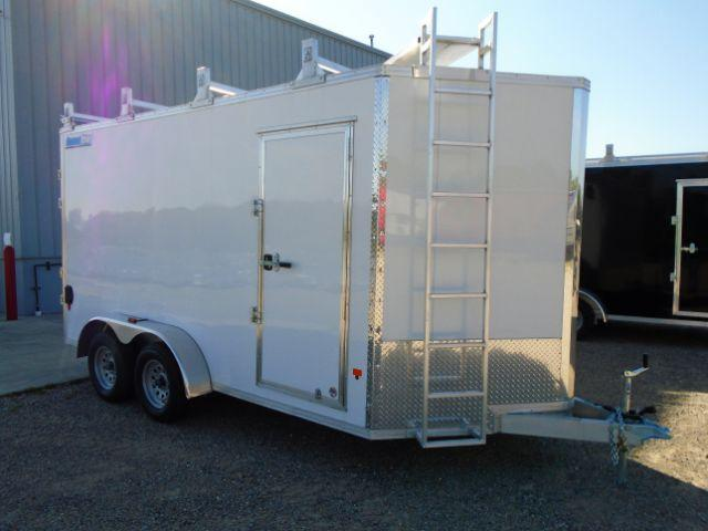 2019 CargoPro Trailers C7X14S V-NOSE/RAMP DOOR/SIDE DOOR Enclosed Cargo Trailer