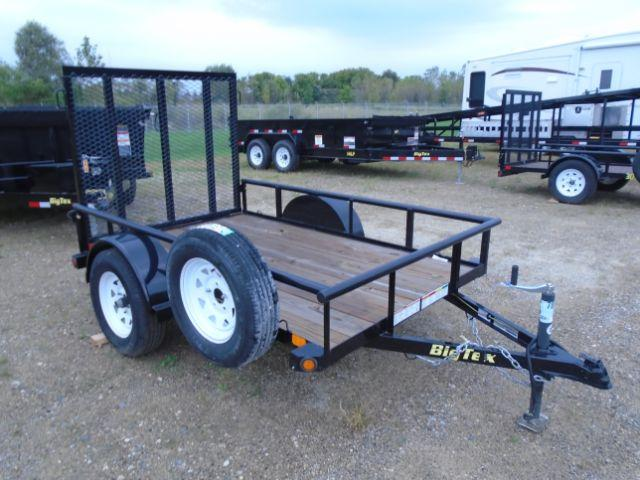 2018 Big Tex Trailers 30SA-08BK4RG 5x8 Ramp Gate * Utility Trailer