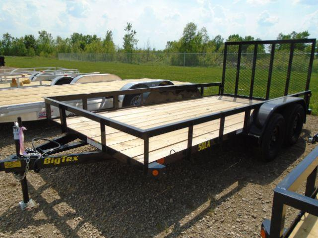2019 Big Tex Trailers 50LA-14BK4RG 6.5X14 RAMP GATE Utility Trailer