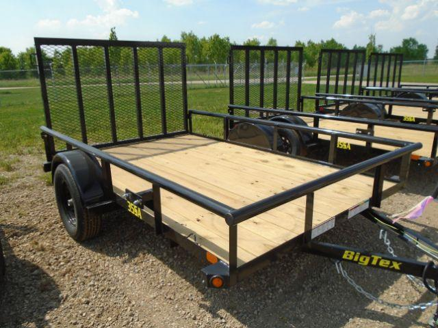 2019 Big Tex Trailers 35SA-10BK4RG 6.5X10 RAMP GATE Utility Trailer