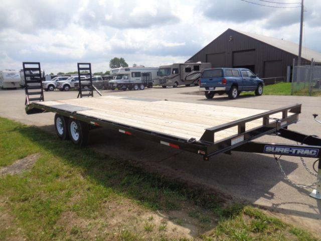 2018 Sure-Trac ST102203TDO2A-B-100 8.5X20 10K +3FT BEAVERTAIL DECKOVER Utility Trailer