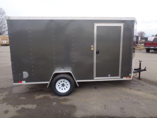 2019 United Trailers 6x12 V-NOSE/RAMP DOOR Enclosed Cargo Trailer