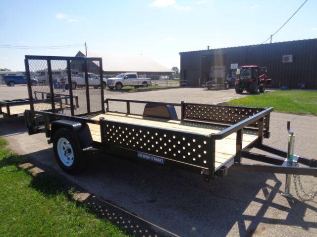 2019 Sure-Trac ST7212TATV-B-030 6X12 TUBE TOP ATV 3K IDLER Utility Trailer