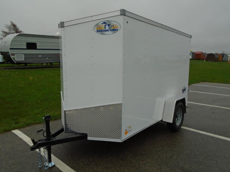 2020 Great Lakes Trailers GLEFTW510SA35-S V-NOSE/RAMP DOOR Enclosed Cargo Trailer