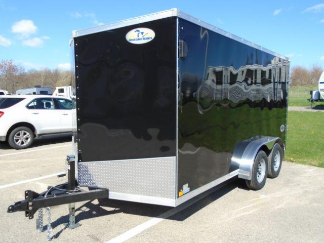 2020 Great Lakes Trailers GLHFTW714TA35-S HURON 7X14 RD/SD Enclosed Cargo Trailer