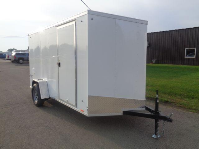 2019 Pace American OB6X12SI2 V-NOSE/RAMP DOOR/SIDE DOOR Enclosed Cargo Trailer