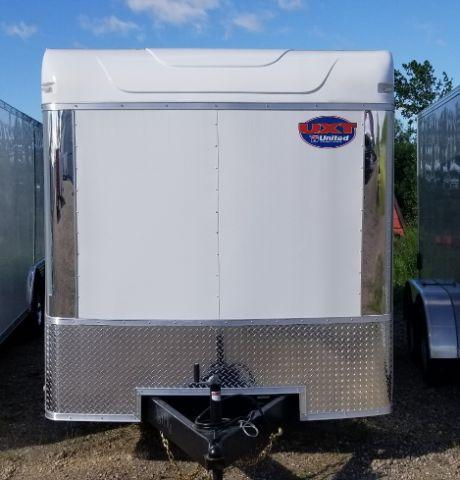 2019 United Trailers UXT-716TA35 FLAT FRONT/BARN DOOR/SIDE DOOR Enclosed Cargo Trailer