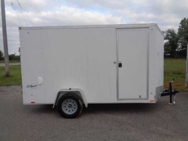 2019 Pace American OB6012SI2 V-Nose/Ramp Door/+6In Extra Height Enclosed Cargo Trailer