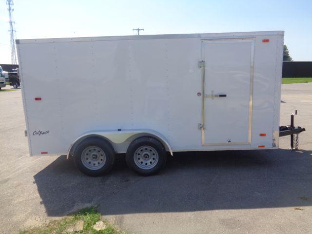 2019 Pace American 7x14 V-NOSE/RAMP DOOR/SIDE DOOR Enclosed Cargo Trailer