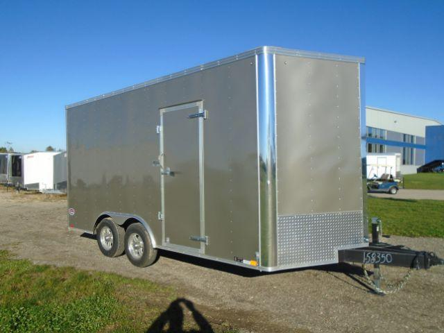 2018 United Trailers UXTV-8.519TA52 V-NOSE Enclosed Cargo Trailer