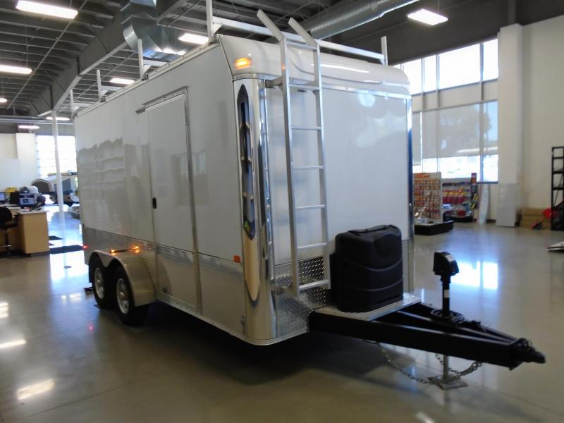 2020 Great Lakes Trailers GLHFTW716TA52-S Huron 7x16 RD/SD Enclosed Cargo Trailer