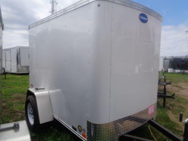 2019 United Trailers XLE-58SA30-S Ramp Door Enclosed Cargo Trailer