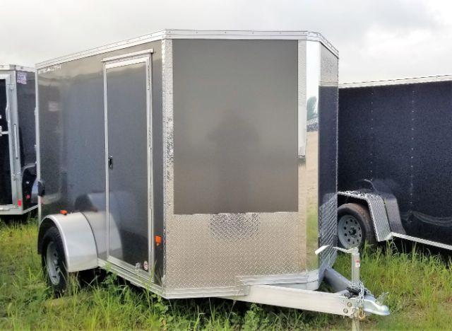 2018 CargoPro Trailers C6X10S Aluminum/V-Nose/Side Door/Ramp Door Enclosed Cargo Trailer