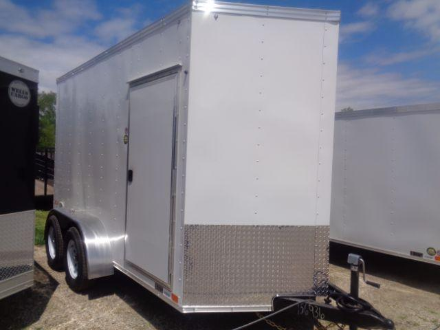 "2018 United Trailers XLV-612TA35-S SIDE DOOR/RAMP DOOR/ UPGRADE/+12"" HEIGHT Enclosed Cargo Trailer"