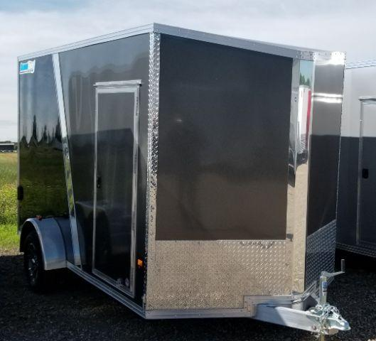 2018 CargoPro Trailers C7X12SSA-IF V-NOSE/RAMP DOOR/SIDE DOOR Enclosed Cargo Trailer