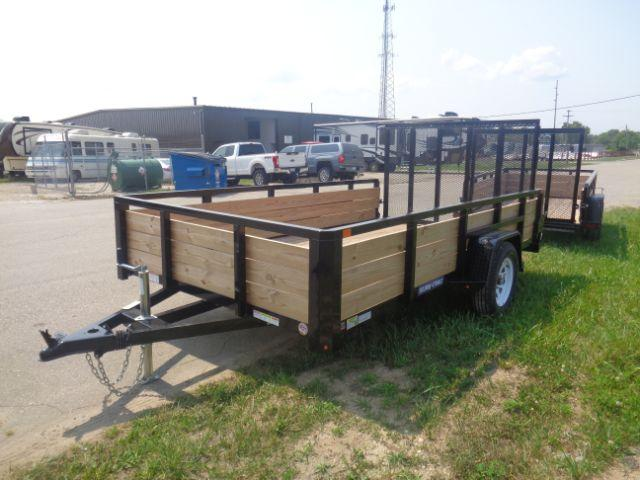 2018 Sure-Trac ST8212HST-B-030 7X12 TUBE TOP THREE BOARD 3K IDLER Utility Trailer