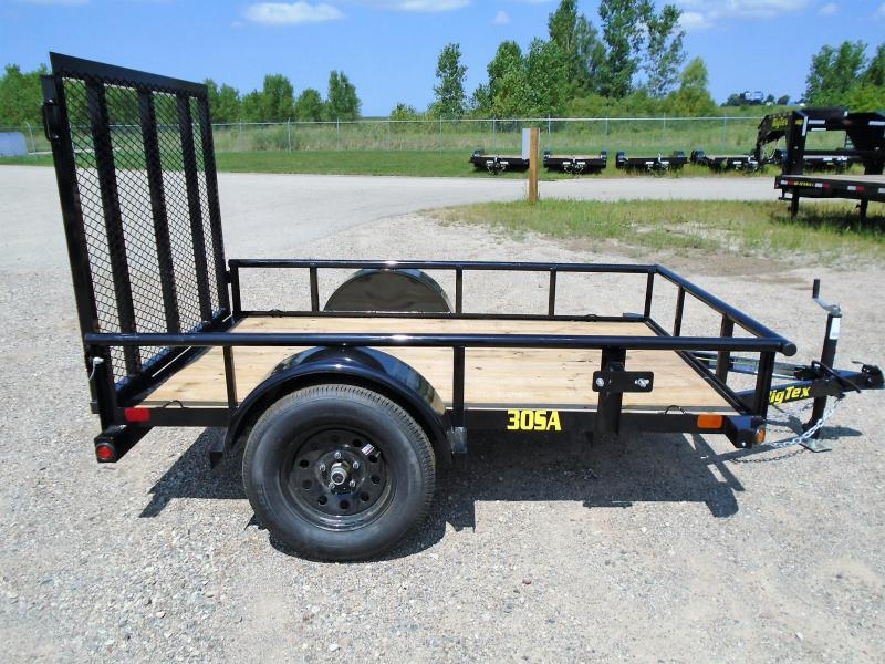 2019 Big Tex Trailers 30SA-08BK4RG 5X8 RAMP GATE Utility Trailer