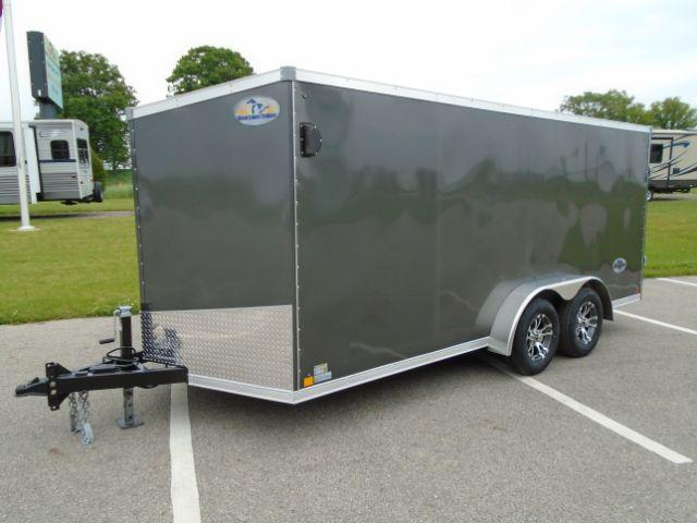 202 Great Lakes Trailers GLHFTW716TA35-S Huron 7x16 RD/SD Enclosed Cargo Trailer
