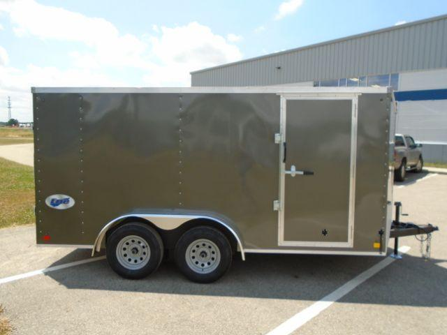 2020 Great Lakes Trailers GLEFTW714TA35-S ERIE 7X14 RD/SD Enclosed Cargo Trailer