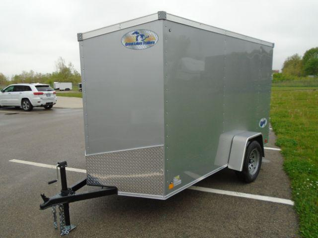 2020 Great Lakes Trailers GLEFTW510SA35-S V-NOSE/SWING DOOR Enclosed Cargo Trailer
