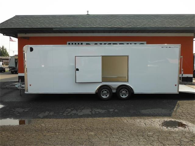 2018 ALCOM Stealth 8.5X24 All Aluminum Enclosed Trailer