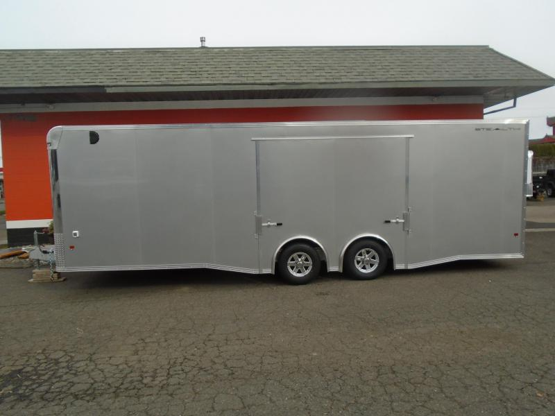 2019 Alcom-Stealth C8X26SCH-IF Car / Racing Trailer