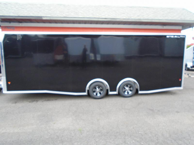 2019 Alcom-Stealth C8X24SCH Car / Racing Trailer