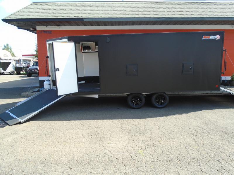 2019 Alcom-Stealth SNOPROE101X18 Snowmobile Trailer