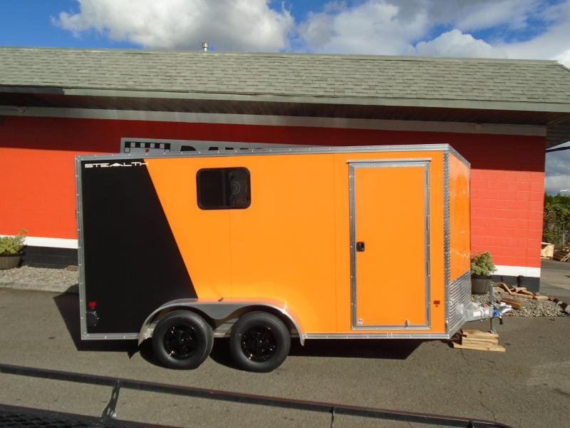 2019 Alcom-Stealth C7X14 Enclosed Cargo Trailer
