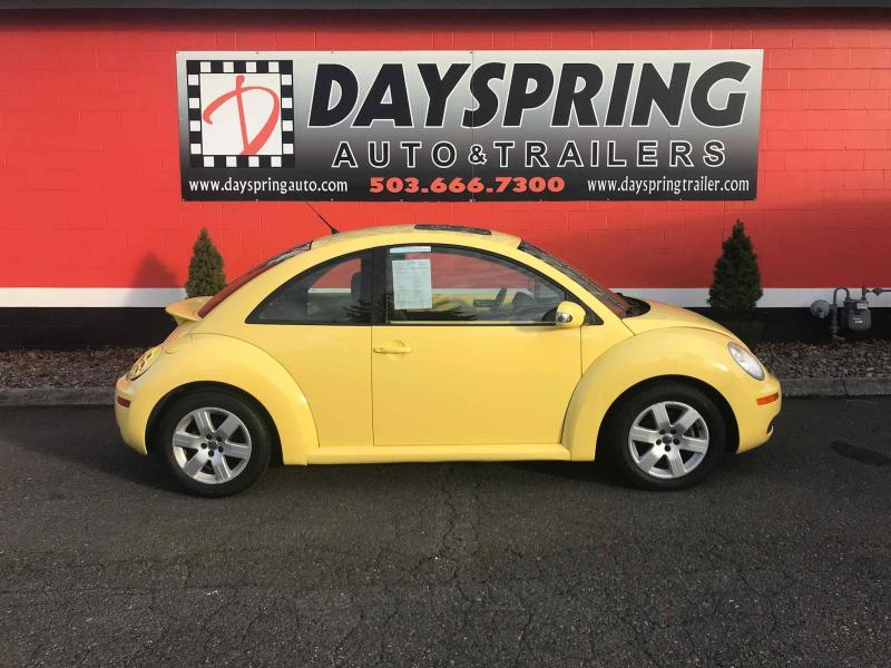 2007 Volkswagen BEETLE Car