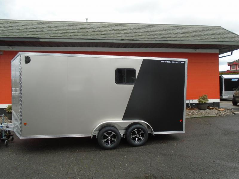 2019 Alcom-Stealth C7.5X16S-IF Enclosed Cargo Trailer
