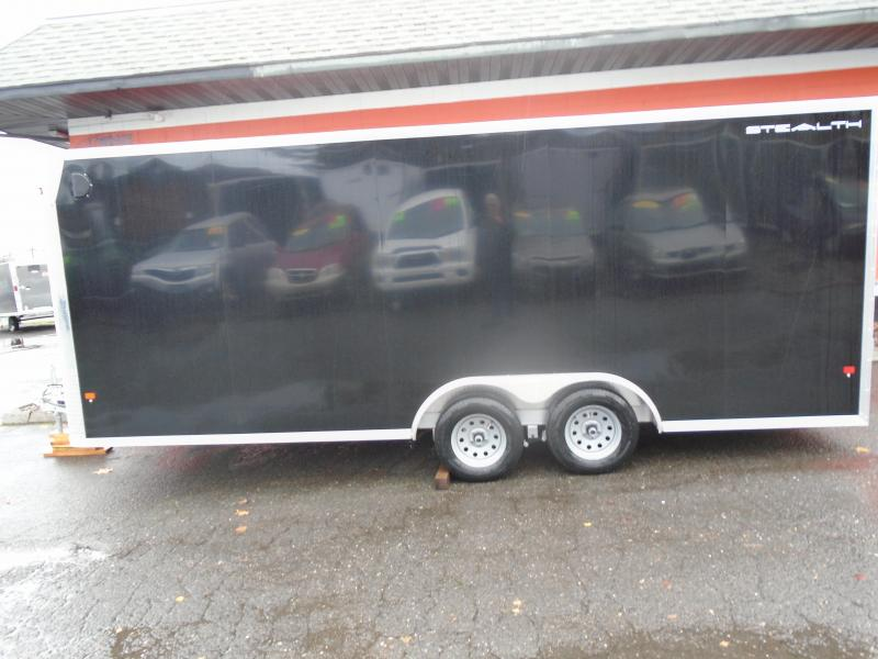 2019 Alcom-Stealth C8X20SCH-IF Car / Racing Trailer