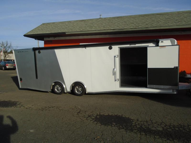 2018 Alcom-Stealth C8.5X28SCH-IF Car / Racing Trailer