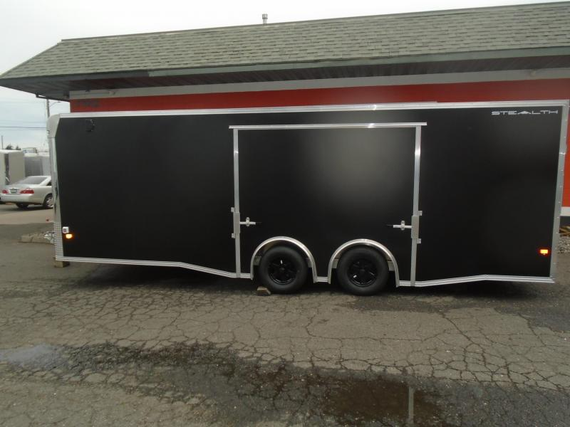2019 Alcom-Stealth C8X24SCH-IF Car / Racing Trailer