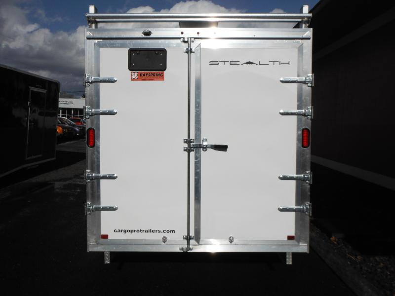 2018 Alcom-Stealth CONTRACTOR Enclosed Cargo Trailer