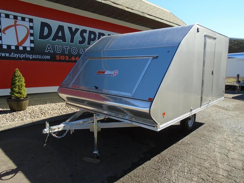 2019 Snopro HYBRID 101X12 Snowmobile Trailer