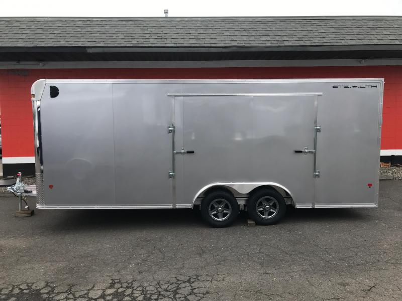 2018 Alcom-Stealth 8.5x20 Car / Racing Trailer