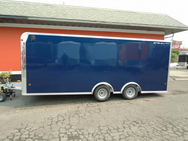 2019 Alcom-Stealth C8X20SCH Enclosed Cargo Trailer