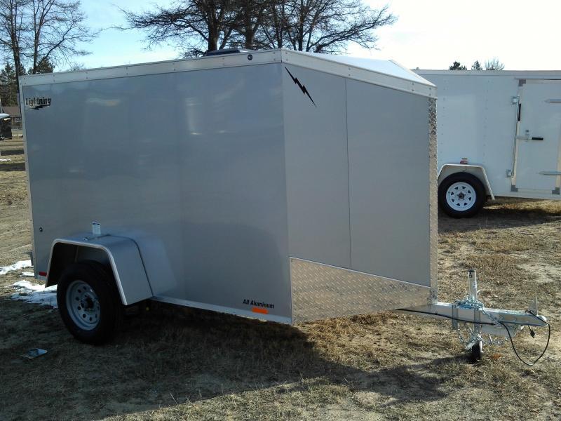 2018 Forest River Inc. 5X8 Enclosed Aluminum Cargo Trailer
