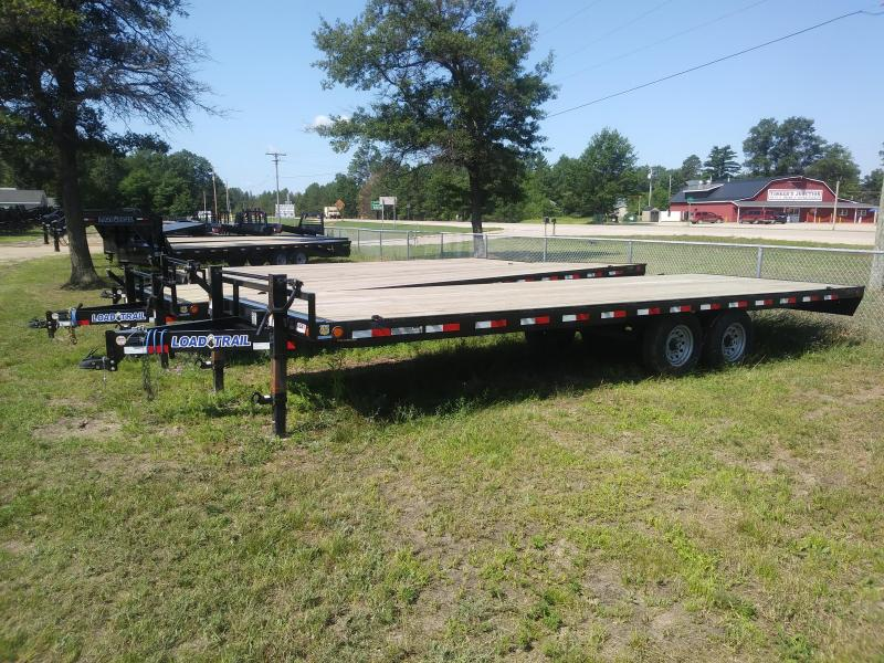 """2019 Load Trail 102"""" X 24' Deck Over Pintle Hook Equipment Trailer"""