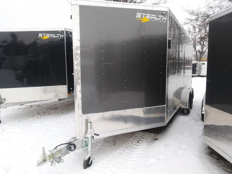 2019 Stealth Trailers Apache series Snowmobile Trailer