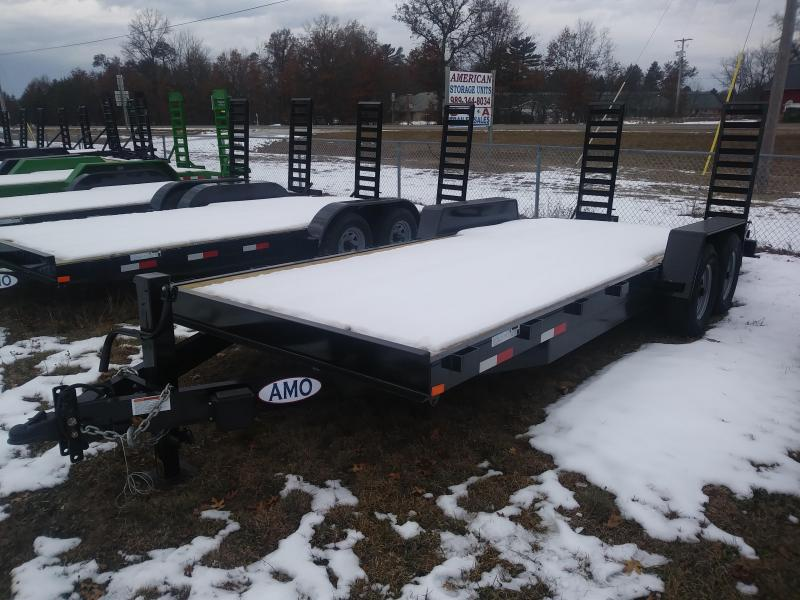 2019 AMO 82 x 20 TA4 Equipment Trailer