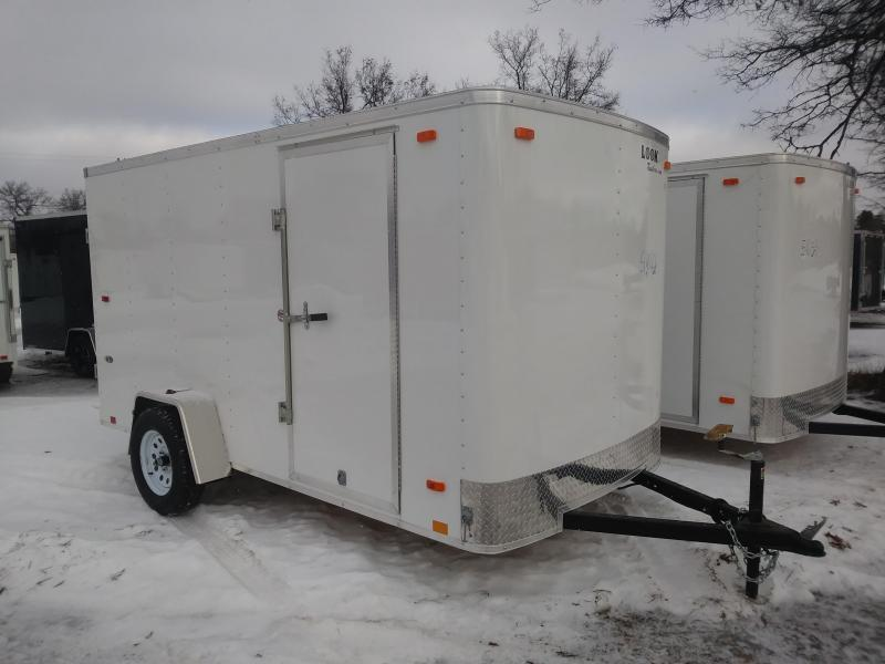 2019 Look Trailers 6 X 12 Enclosed Cargo Trailer