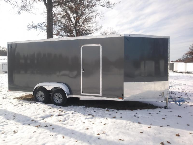 2019 Lightning 7x23 Snowmobile Trailer