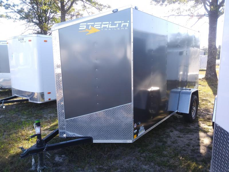 2019 Stealth Trailers 6x12 Enclosed Cargo Trailer