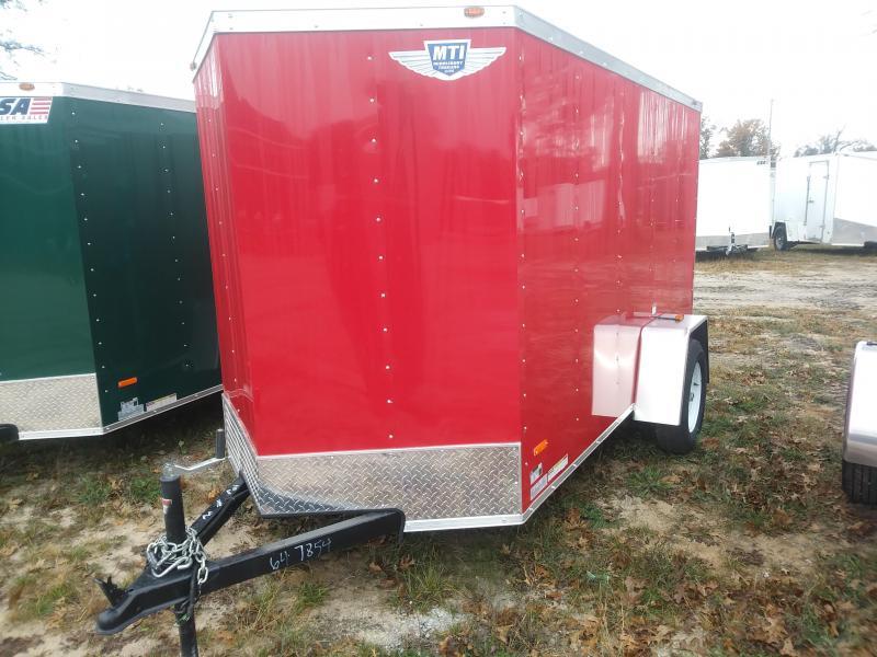 2019 MTI Trailers 5X10 Enclosed Cargo Trailer